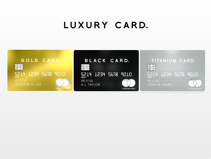 luxury card online